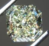 Loose Yellow Diamond: 2.02ct U-V VVS2 Radiant Cut Diamond GIA R7338