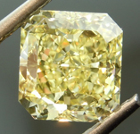 Loose Yellow Diamond: 2.06ct Fancy Intense Yellow VS2 Radiant Cut Diamond GIA R7351
