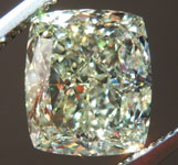 SOLD.......Loose Yellow Diamond: 3.02ct U-V VVS1 Cushion Cut Diamond GIA R7372