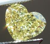 Loose Yellow Diamond: 2.01ct Fancy Intense Yellow SI1 Heart Shape Diamond GIA R7362
