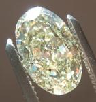 Loose Yellow Diamond: 2.07ct W-X VS2 Oval Modified Brilliant Diamond GIA R7371