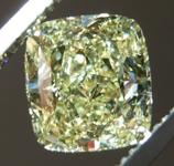 Loose Yellow Diamond: 2.01ct Fancy Yellow SI1 Cushion Cut Diamond GIA R7366