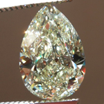 Loose Yellow Diamond: 3.02ct U-V VS2 Pear Shape Diamond GIA R7340