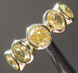 SOLD....Yellow Diamond Ring: 2.04ctw Fancy Brownish Yellow VS-SI Oval Brilliant Diamond Ring R7387