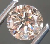 Loose Brown Diamond: .80ct N, Very Light Brown I1 Round Brilliant Diamond GIA R7458