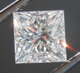 Loose Colorless Diamond: 1.24ct G I1 Princess Cut Diamond GIA R7461