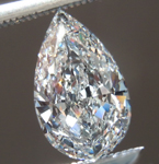 SOLD.....1.02ct F SI2 Pear Shape Diamond GIA R7488