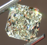 SOLD.....Loose Yellow Diamond: 1.80ct W-X VVS2 Radiant Cut Diamond GIA R7502