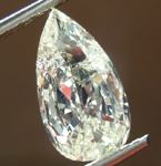 SOLD..........Loose Diamond: 1.62ct M I2 Pear Brilliant Diamond R7507