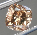 SOLD.......Loose Brown Diamond: 1.06ct Fancy Brown SI1 Cushion Cut Diamond R7498