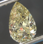 Chameleon Diamond: 2.02ct Fancy Deep Greenish Yellow Chameleon SI2 Pear Brilliant Diamond GIA R7517