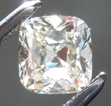 Loose Colorless Diamond: .48ct K SI1 Cushion Brilliant Diamond GIA R7441