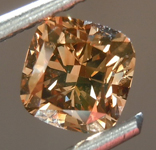 SOLD.....Loose Brown Diamond: 1.02ct Fancy Deep Brown SI1 Cushion Cut Diamond R7492