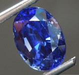 SOLD....2.66ct Blue Oval Brilliant Sapphire GIA R7529
