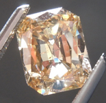 Loose Brown Diamond: 1.03ct Fancy Light Yellow Brown I1 Radiant Cut Diamond R7481