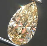 SOLD.....Loose Diamond: 2.14ct Fancy Brownish Yellow SI2 Pear Shape Diamond GIA R7531