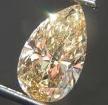 Loose Diamond: 2.14ct Fancy Brownish Yellow SI2 Pear Shape Diamond GIA R7531