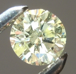 Loose Yellow Diamond: .21ct U-V I1 Round Brilliant Diamond GIA R6598