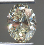 Loose Yellow Diamond: 1.63ct Y-Z VS1 VS2 Oval Brilliant Diamond R7114