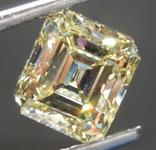 Loose Yellow Diamond: 2.63ct Fancy Yellow VS1 Emerald Cut Diamond GIA R7573