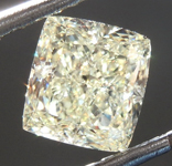 SOLD....Loose Yellow Diamond: 1.58ct W-X VVS2 Radiant Cut Diamond GIA R7580