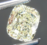 Loose Yellow Diamond: 1.02ct Y-Z VS2 Cushion Cut Diamond GIA R7579