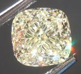 Loose Yellow Diamond: 1.57ct U-V VS1 Cushion Cut Diamond GIA R7577