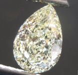 Loose Yellow Diamond: 1.34ct W-X VVS1 Pear Shape Diamond GIA R7576