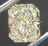 SOLD....Loose Yellow Diamond: 1.16ct Y-Z VVS2 Radiant Cut Diamond GIA R7575