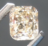 Loose Brown Diamond: .38ct Y-Z, Light Brown SI2 Radiant Cut Diamond GIA R7409
