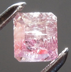 SOLD....Loose Pink Diamond: .47ct Fancy Brownish Purplish Pink I2 Radiant Cut Diamond R7541