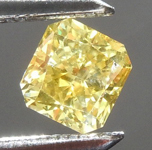 Loose Yellow Diamond: .40ct Fancy Deep Brownish Yellow SI2 Radiant Cut Diamond GIA R7550