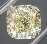 SOLD.....Loose Yellow Diamond: 1.13ct Y-Z VVS2 Cushion Cut Diamond GIA R7602
