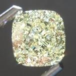 Loose Yellow Diamond: 1.14ct Y-Z VVS2 Cushion Cut Diamond GIA R7603