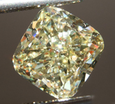 Loose Yellow Diamond: 3.18ct Y-Z VS1 Cushion Cut Diamond GIA R7655