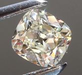 Loose Diamond: .51ct L SI1 Antique Style Cushion Brilliant Diamond R7594