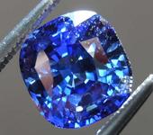 Loose Sapphire: 2.27ct Blue Cushion Cut Sapphire R7691