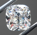 Loose Colorless Diamond: 1.71ct G SI1 Old Mine Brilliant Diamond GIA R7707
