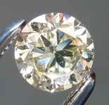 Loose Yellow Diamond: .45ct U-V SI1 Round Brilliant Diamond R7738