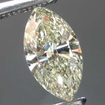 Loose Diamond: .52ct Fancy Light Grayish Brownish Greenish Yellow VS2 Marquise Diamond R7737