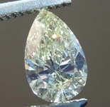 SOLD.....Loose Diamond: .70ct Fancy Brownish Greenish Yellow CHAMELEON SI2 Pear Brilliant Diamond GIA R7701