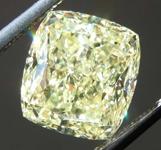 Loose Yellow Diamond: 5.02ct Fancy Yellow SI2 Radiant Cut Diamond GIA R7788