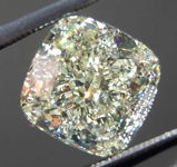 4.24ct W-X VS2 Cushion Cut Diamond GIA R7790