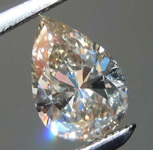 .58ct U-V SI2 Pear Diamond GIA R7815