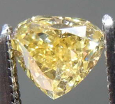 .32ct Fancy Brownish Yellow SI2 Heart Shape Diamond GIA R7802