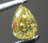 .28ct Fancy Intense Yellow I1 Pear Diamond GIA R7800
