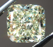 Loose Yellow Diamond: 3.01ct Fancy Yellow VS1 Cushion Cut Diamond GIA R7825