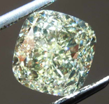 SOLD.........3.01ct W-X VVS1 Cushion Cut Diamond GIA R7868