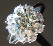 1.90ct O-P VS1 Round Brilliant Diamond Ring GIA R7867