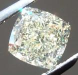 1.03ct U-V VS1 Cushion Cut Diamond GIA R7871